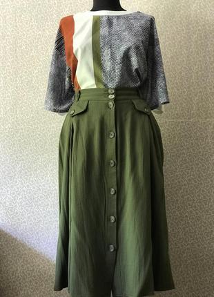 Идеальная юбка солнцеклёш5 фото