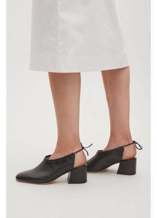 Cos  кожаные туфли