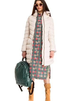 Зимняя женская куртка moda piu anna (италия) размер s-m