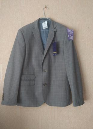 Новый, шикарный, мужской пиджак, премиум серии
