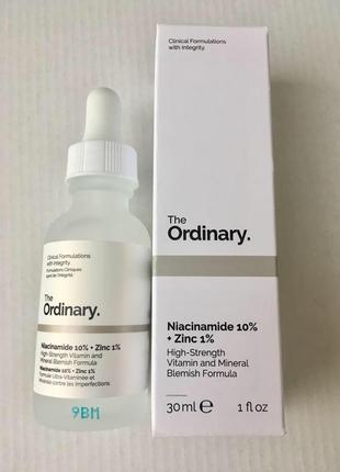 Сыворотка для проблемной кожи niacinamide 10% + zinc 1%2 фото