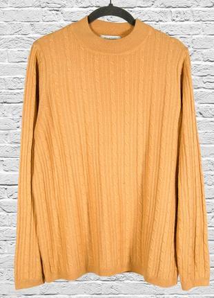 Бежевый свитер свободный, женский пуловер бежевый, оверсайз свитер