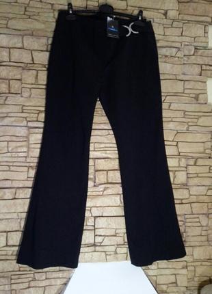 Суперстрейчевые брюки с декором