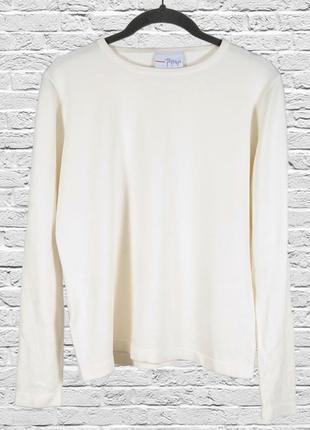Белый свитер однотонный, свободный пуловер белый, женский свитер молочный