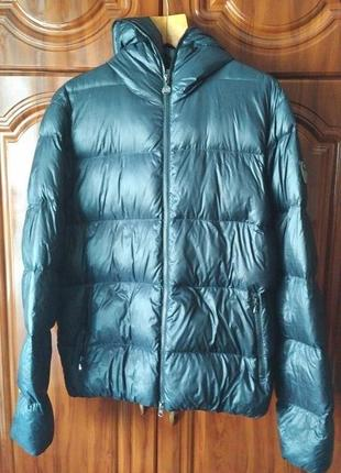 Легкая куртка пуховик armani ea7