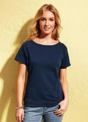 Плотная футболка для отдыха от тсм чибо германия , размер 36 евро 42-44