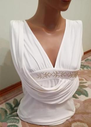 Красивая стильная майка блуза