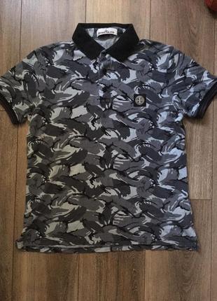 Stone island поло футболка