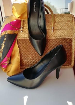 🌹 чёрные классические лодочки 🌹 туфли