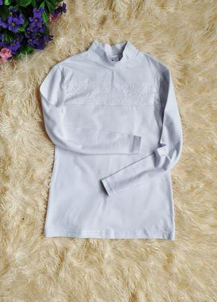 ♠️ школьная нарядная блузка кофта гольф с длинным рукавом ♠️