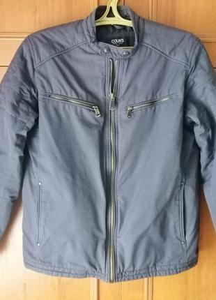 Курточка мужская теплая colin's. осень-весна. размер м