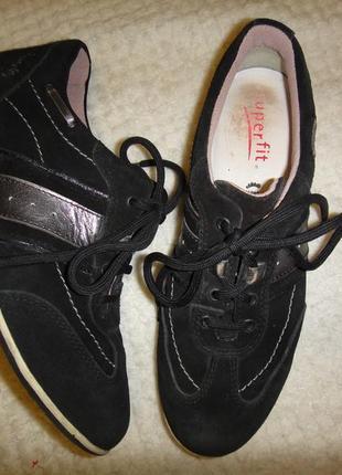 Кожаные туфли ботинки кроссовки superfit