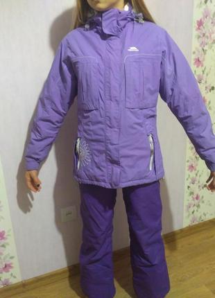 Горнолыжный костюм на 10-12лет.