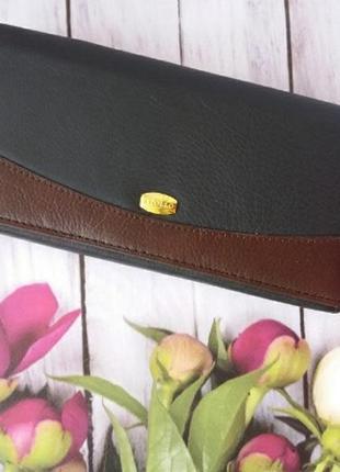 Кожаный женский кошелек из натуральной кожи шкіряний жіночий гаманець