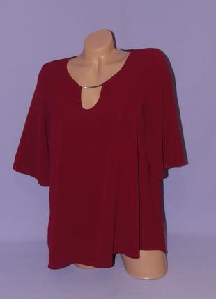 Бордовая красивая блузочка