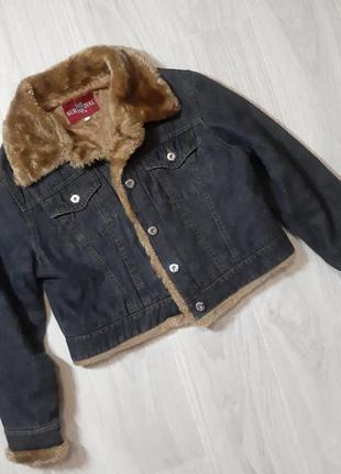 Тепла джинсова куртка від sursvival