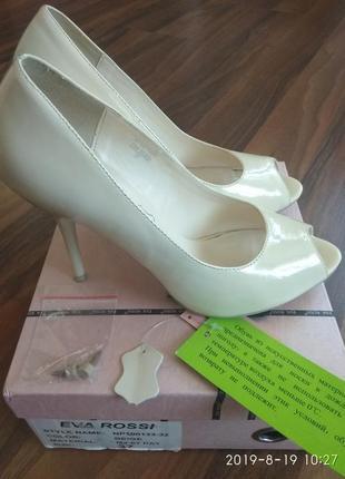 Нарядные туфли eva rossi (свадебные)