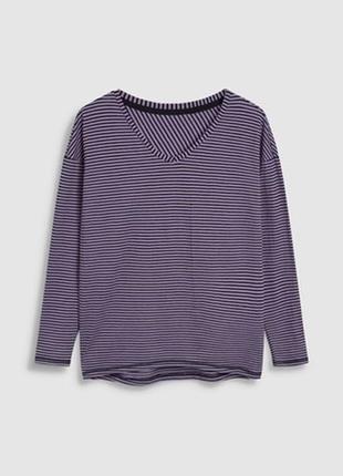 Кофта пурпурного цвета в полоску2 фото