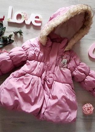Зимняя куртка disney