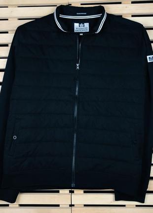 Шикарная мужская куртка бомбер weekend offender размер xl-xxl1 фото