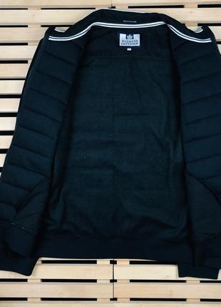 Шикарная мужская куртка бомбер weekend offender размер xl-xxl4 фото