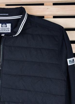 Шикарная мужская куртка бомбер weekend offender размер xl-xxl3 фото