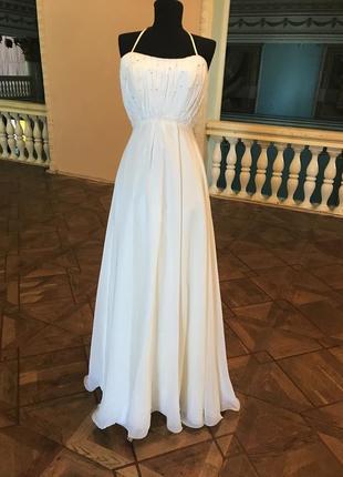 Распродажа. свадебное платье в греческом стиле