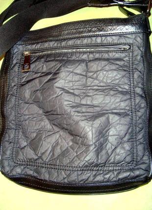 Стильная мужская сумка francesco biasia (италия)