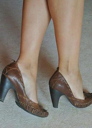 Невероятно удобные кожаные туфельки!