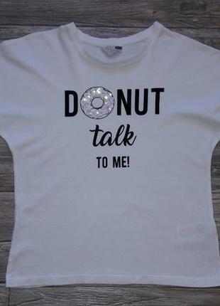 Стильная футболка 10-11лет