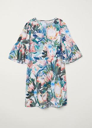 H & m платье с воланами2 фото