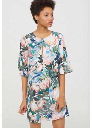 H & m платье с воланами