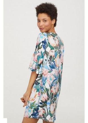 H & m платье с воланами3 фото
