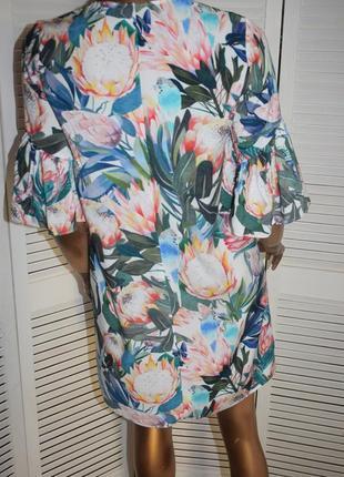 H & m платье с воланами8 фото