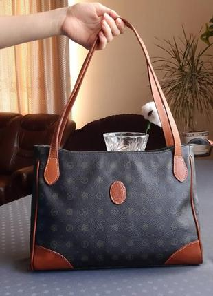 Красивая коричневая сумка montecarlo italy