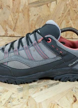 Треккинговые ботинки quechua arpenaz 100 40 р