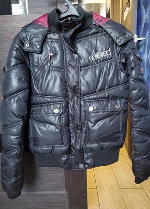 Очень теплая куртка, дутая куртка, пуховик