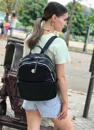 Женский рюкзак david jones cm5312 черный