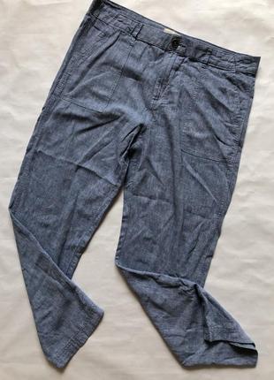 Стильные льняные штаны