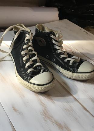 Чёрные converse размер 35