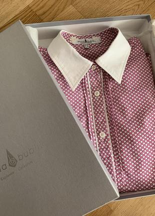Рубашка под запонки блуза от anna bublik exclusive collection