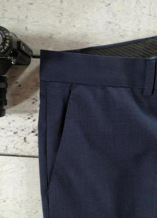Брюки синие классика 50 размер3 фото