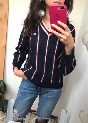 Шерстяной свитер xs-s