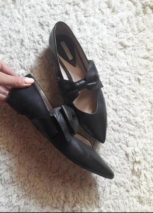 Туфли лодочки балетки