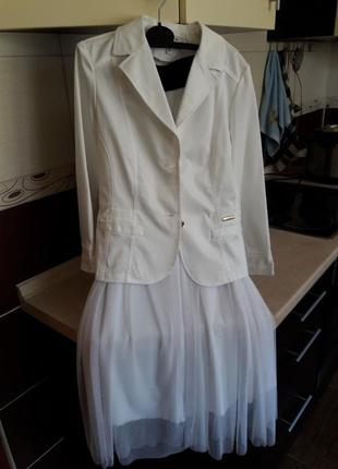 Шикарная юбка и пиджак
