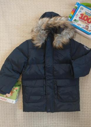 Куртка пуховик для мальчика от name it, дания
