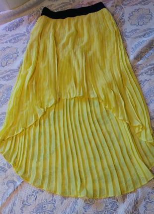 Супер юбка плиссе