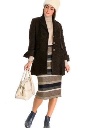 Женское пальто carla montanarini (италия) размер s