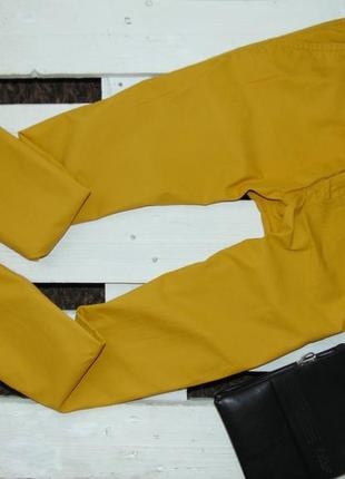 Стильні чоловічі брюки гірчичного кольору від h&m 32р.