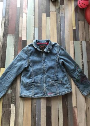 Джинсовая куртка пилжак